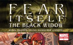 Fear Itself: Black Widow (2011) #1