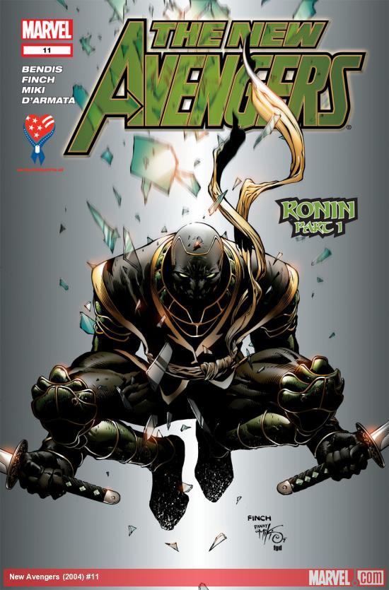 New Avengers (2004) #11