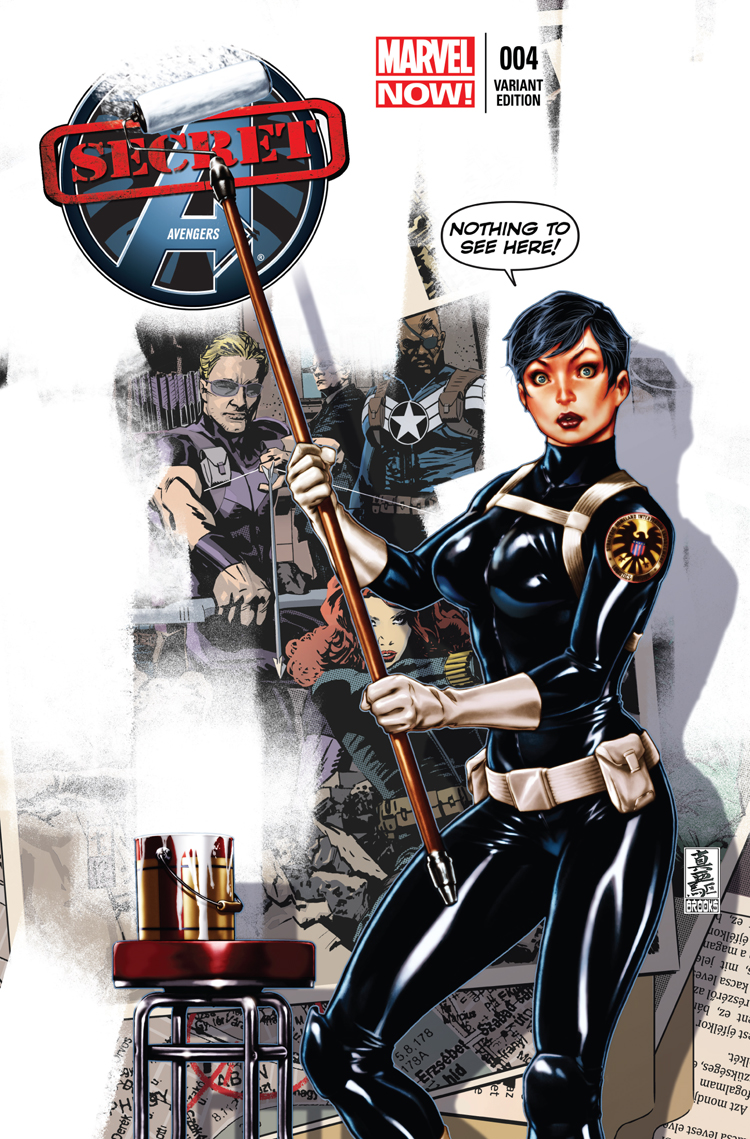 Secret Avengers (2013) #4 (Brooks Variant)