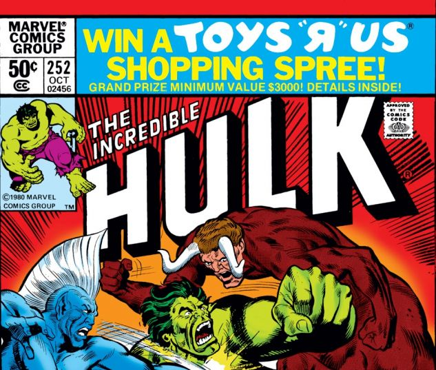 Incredible Hulk (1962) #252 Cover