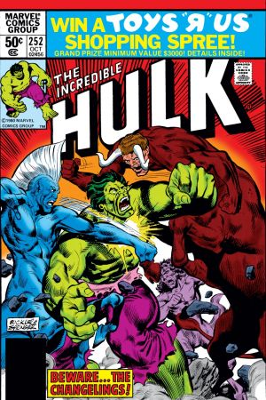 Incredible Hulk (1962) #252