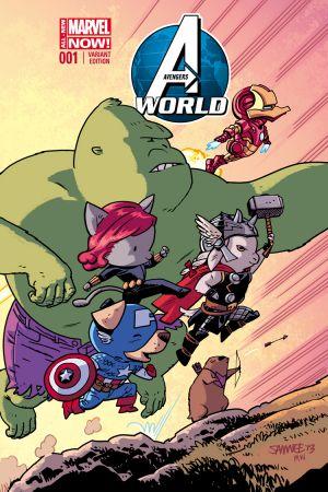 Avengers World (2014) #1 (Samnee Animal Variant)