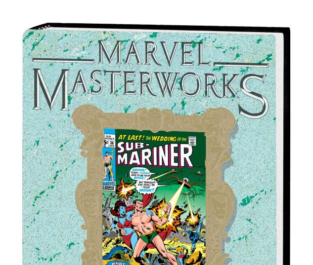 MARVEL MASTERWORKS: THE SUB-MARINER VOL. 5 HC VARIANT (DM ONLY)