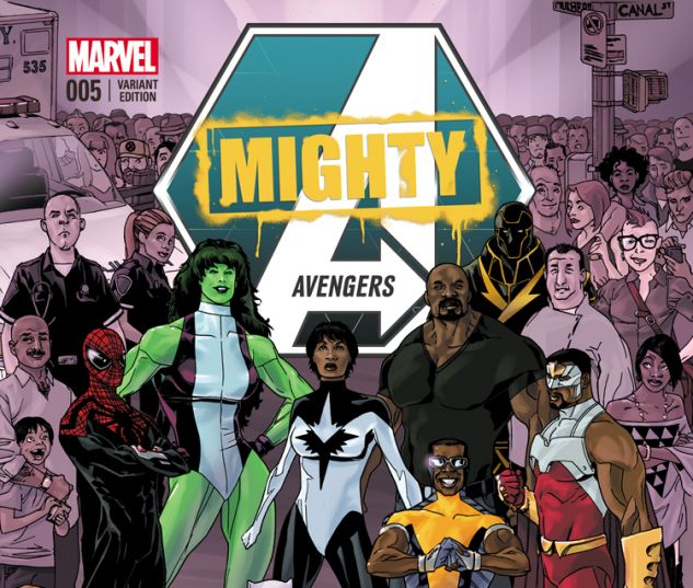 MIGHTY AVENGERS 5.INH ANDRASOFSZKY VARIANT (WITH DIGITAL CODE)