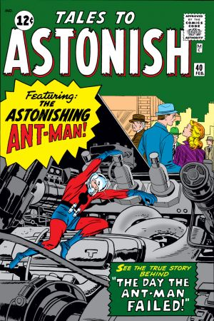 Tales to Astonish #40