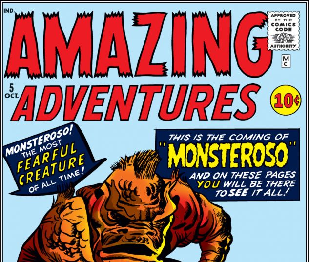 Amazing Adventures (1961) #5 Cover