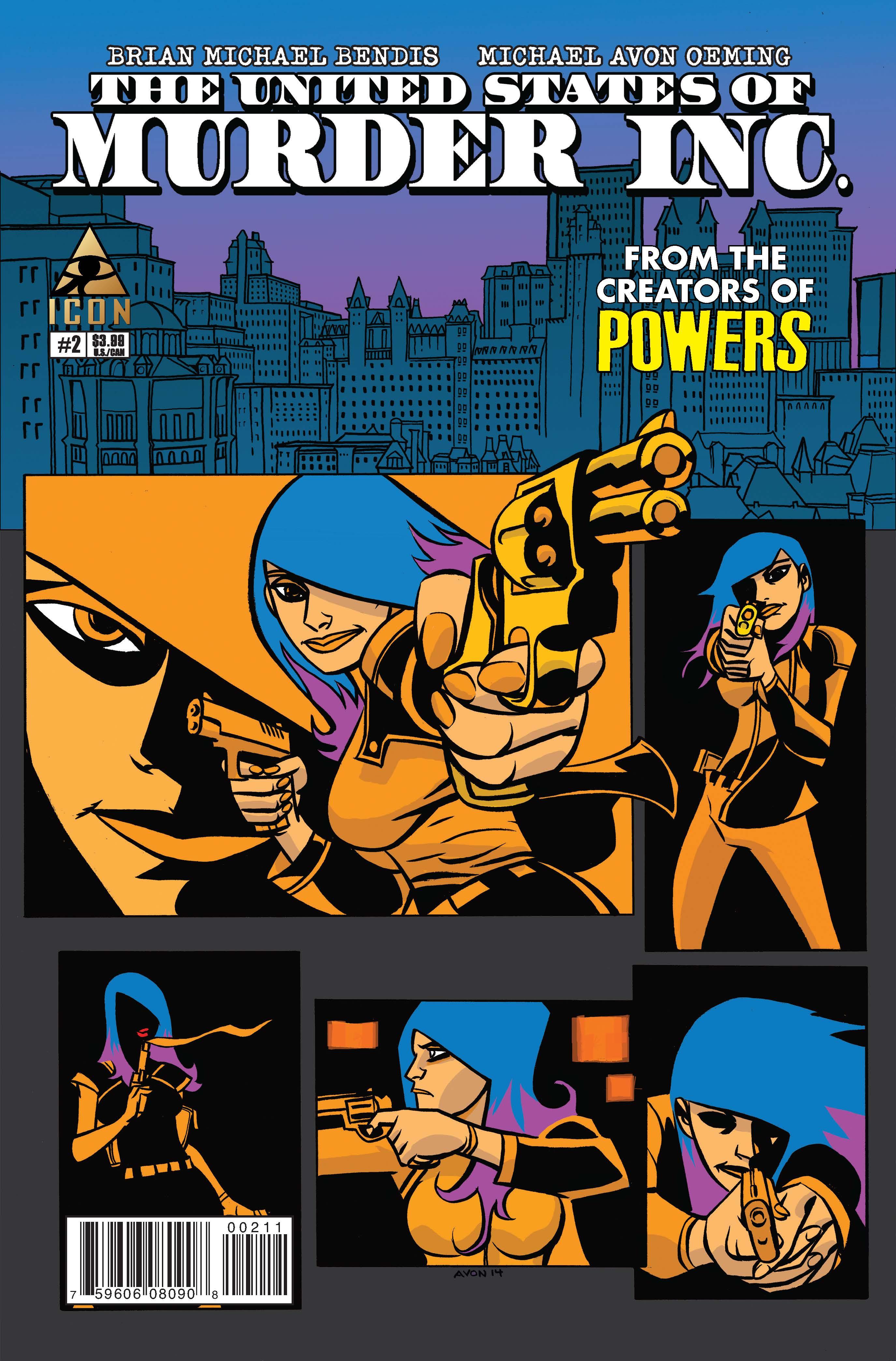 The United States Of Murder Inc 2014 2 Comics Marvel Com