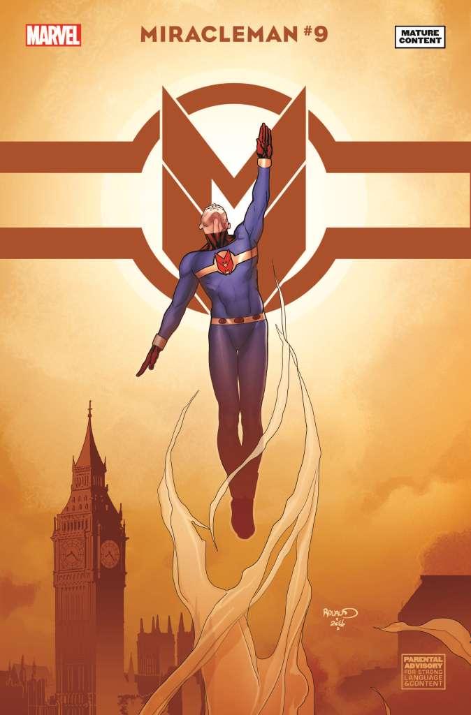Miracleman (2014) #9 (Renaud Variant)