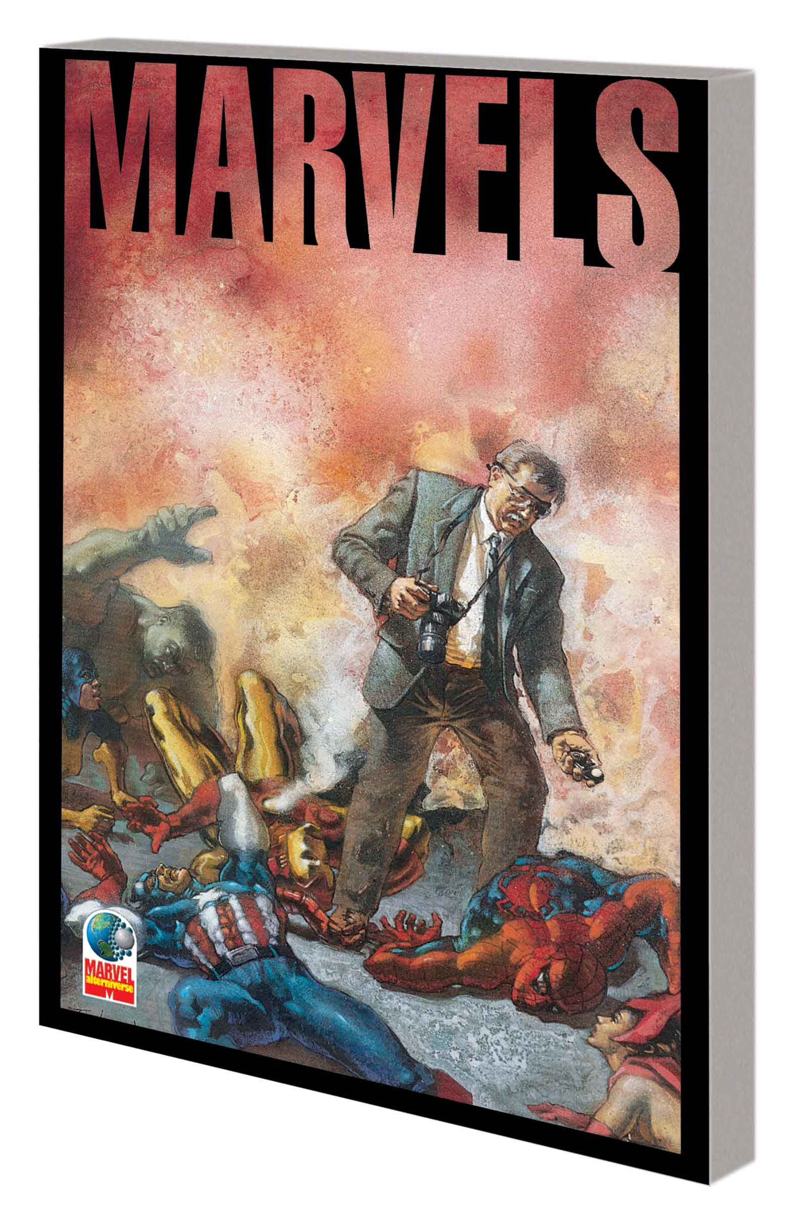 Marvels Companion (Trade Paperback)