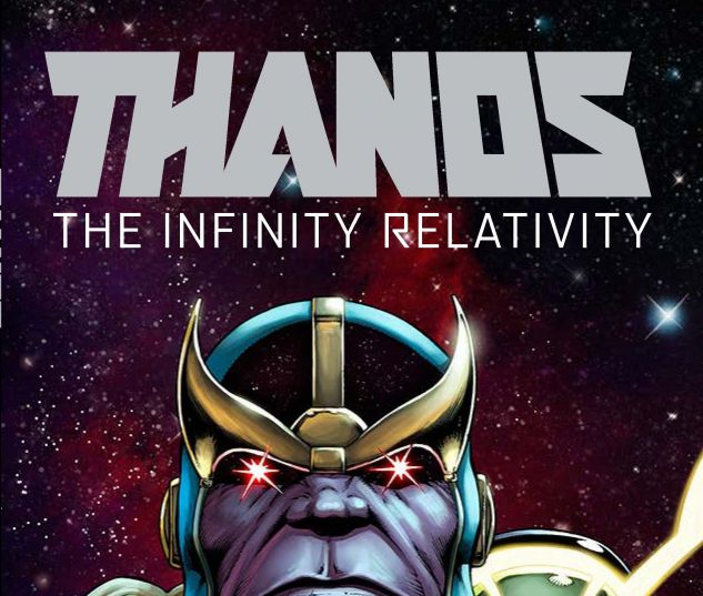 Thanos: The Infinity Relativity OGN cover by Jim Starlin