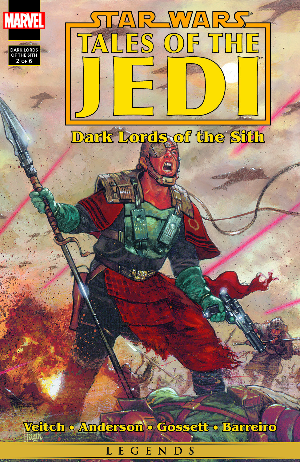 Star Wars: Tales Of The Jedi - Dark Lords Of The Sith (1994) #2
