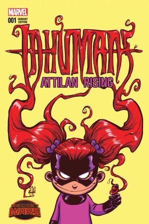 Inhumans: Attilan Rising #1  (Young Variant)