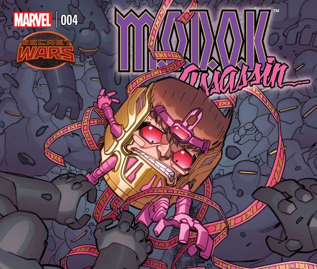 cover from M.O.D.O.K. Assassin (2015) #4