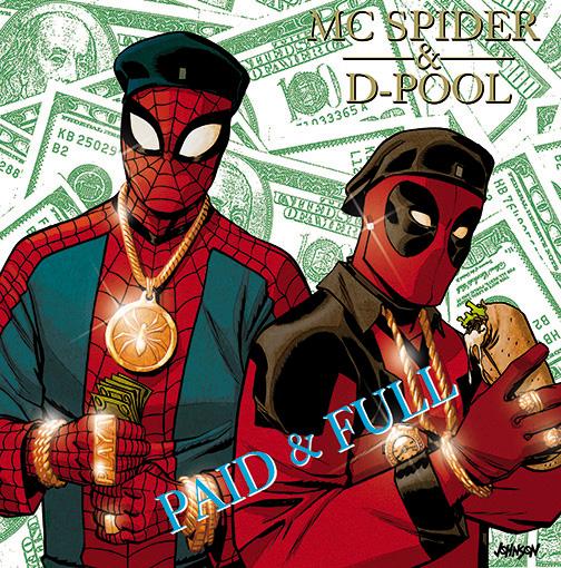 Spider-Man/Deadpool (2016) #1 (Dave Johnson Hip-Hop Variant)