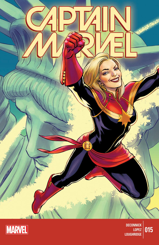Captain Marvel (2014) #15