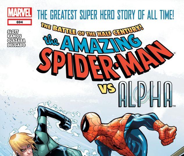 AMAZING SPIDER-MAN (1999) #694 Cover