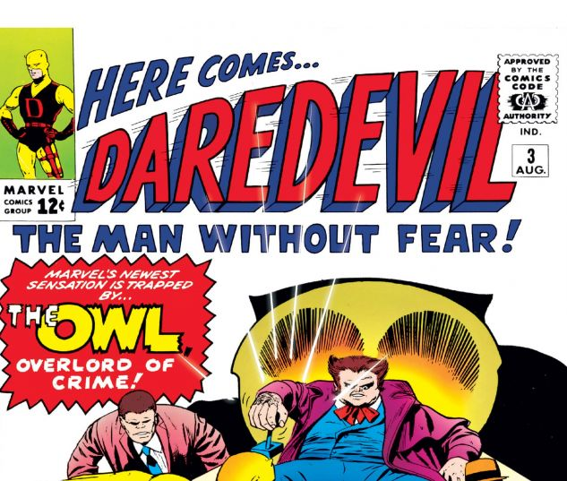 DAREDEVIL (1964) #3 Cover
