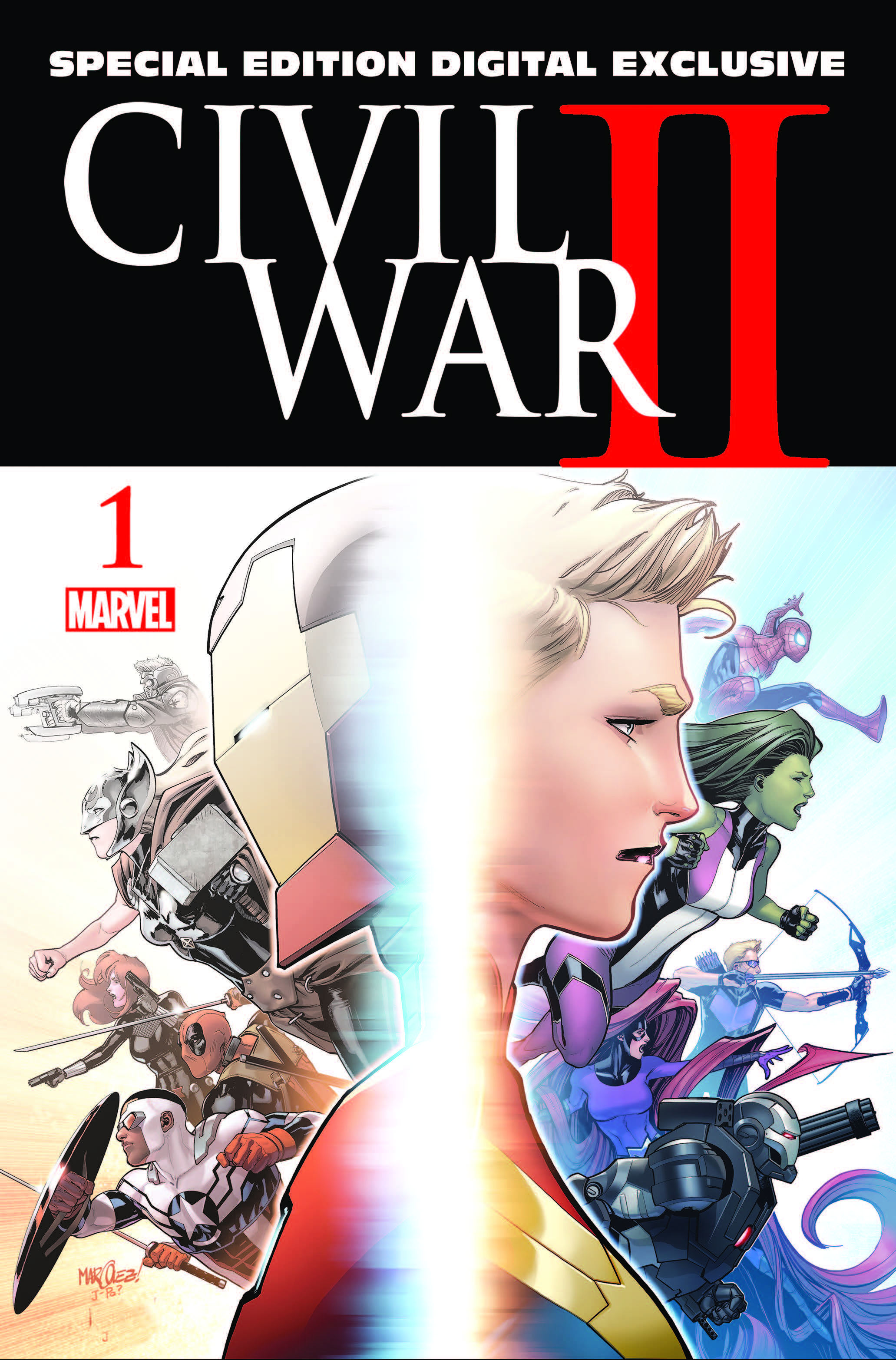Civil War II (2016) #1