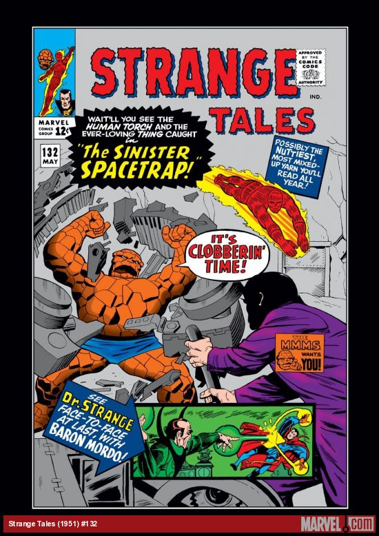 Strange Tales (1951) #132