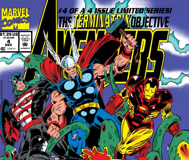 Avengers: The Terminatrix Objective (1993) #4