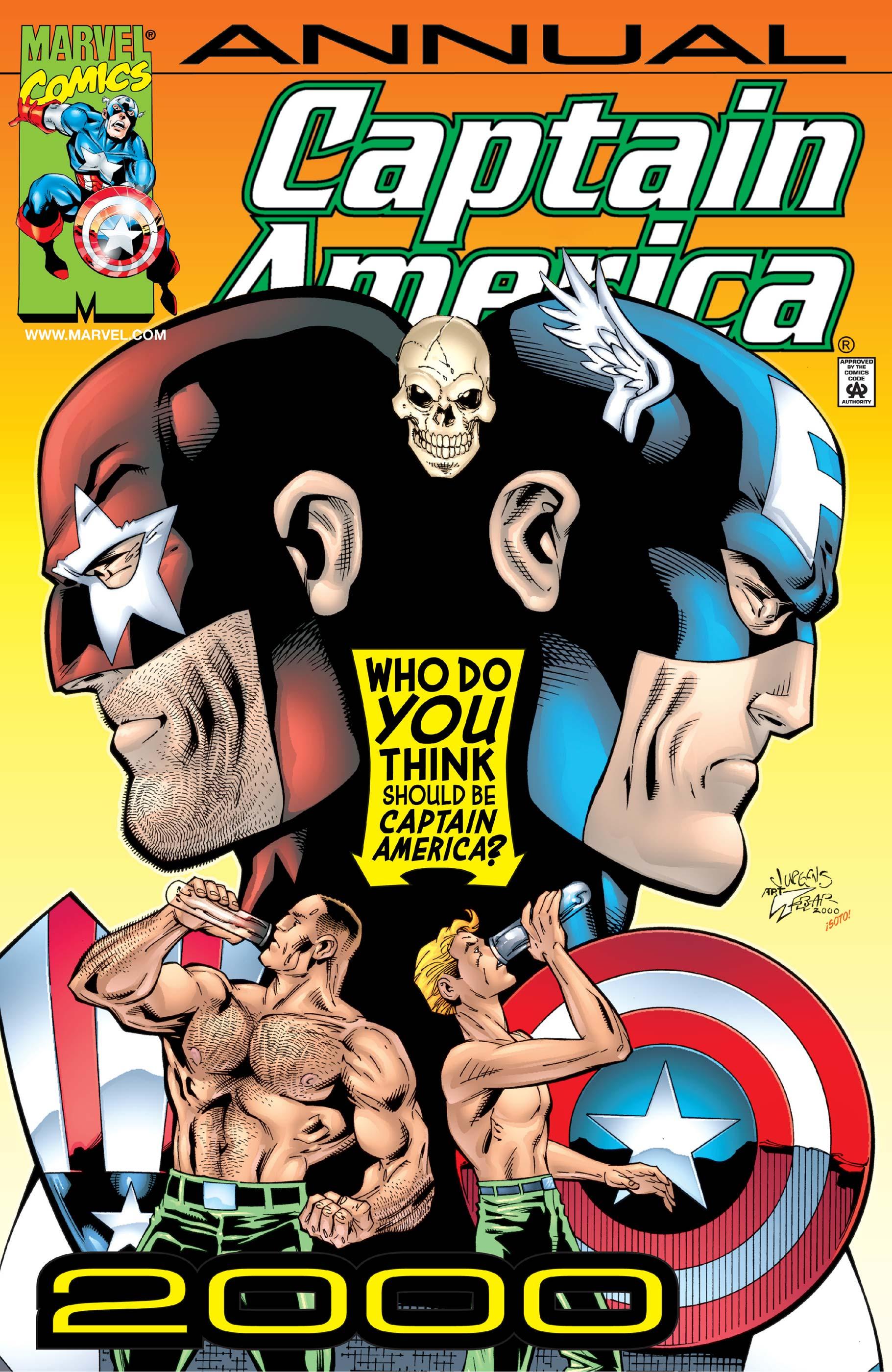 Captain America Annual (2000) #1