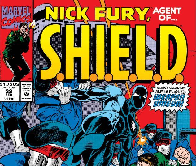 Nick Fury, Agent of Shield (1989) #32