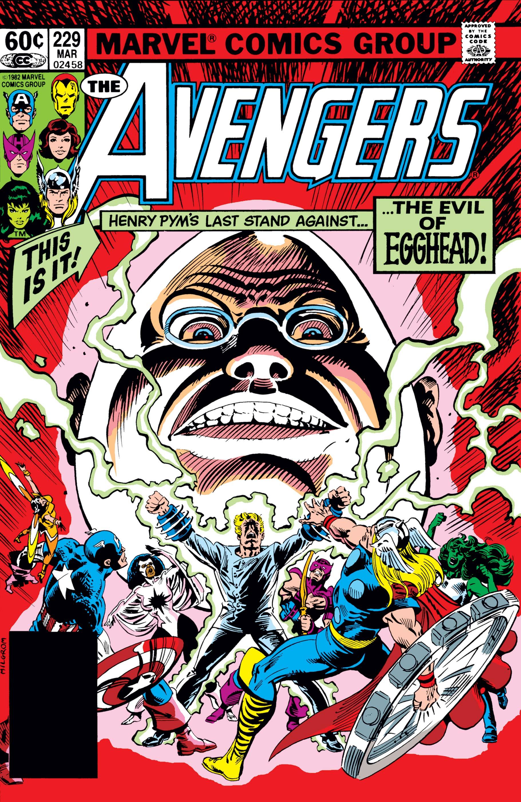 Avengers (1963) #229