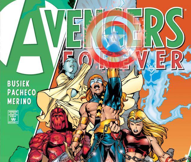 AVENGERS FOREVER (1998) #4