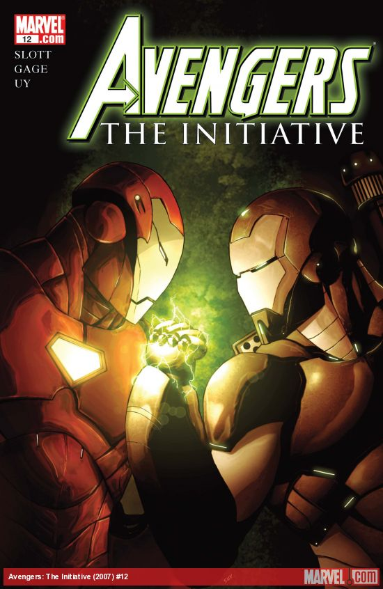 Avengers: The Initiative (2007) #12