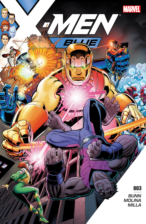 X-Men: Blue (2017) #3
