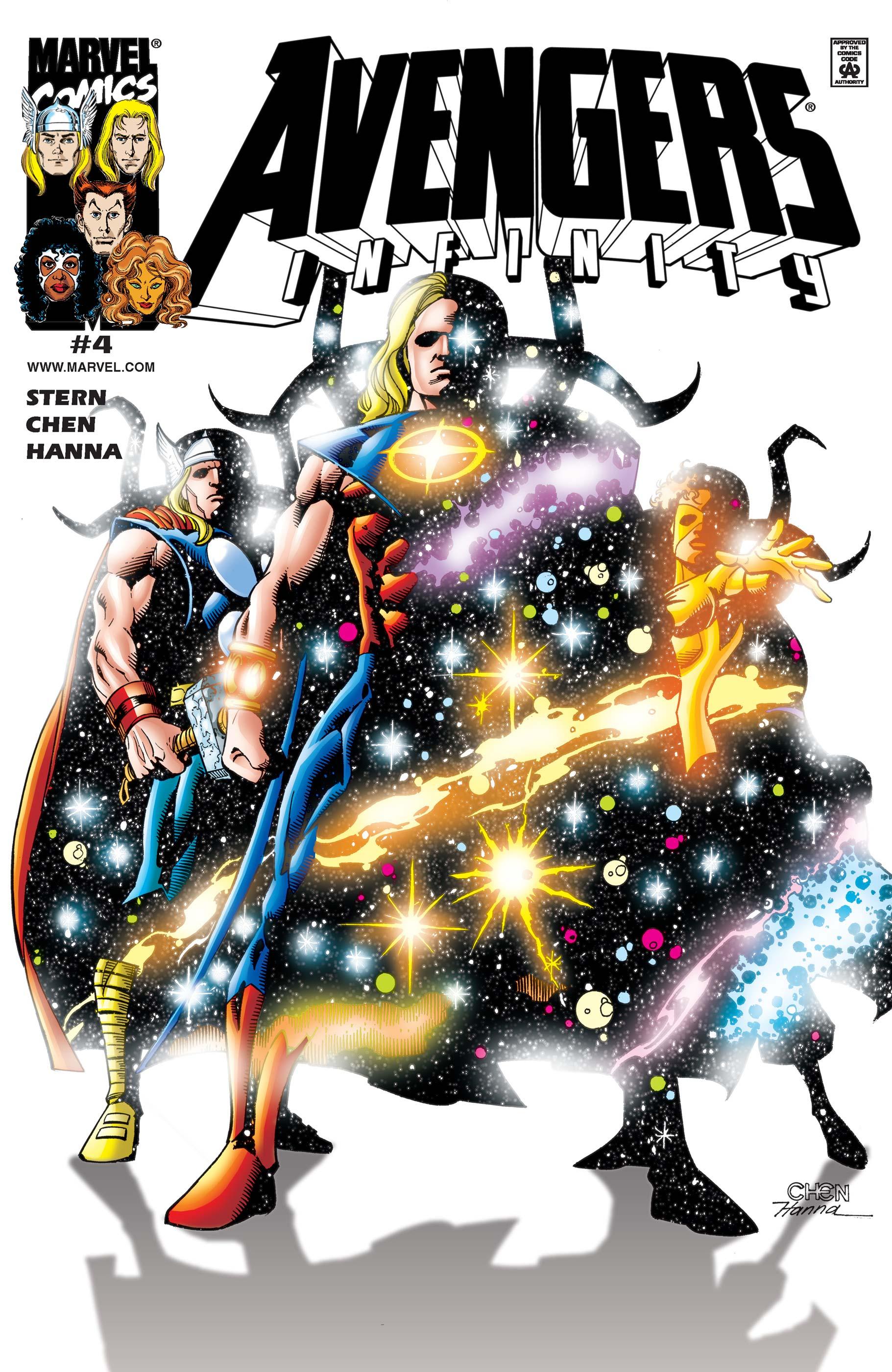 Avengers: Infinity (2000) #4