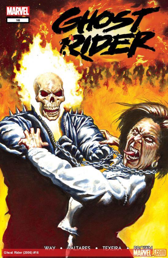 Ghost Rider (2006) #16