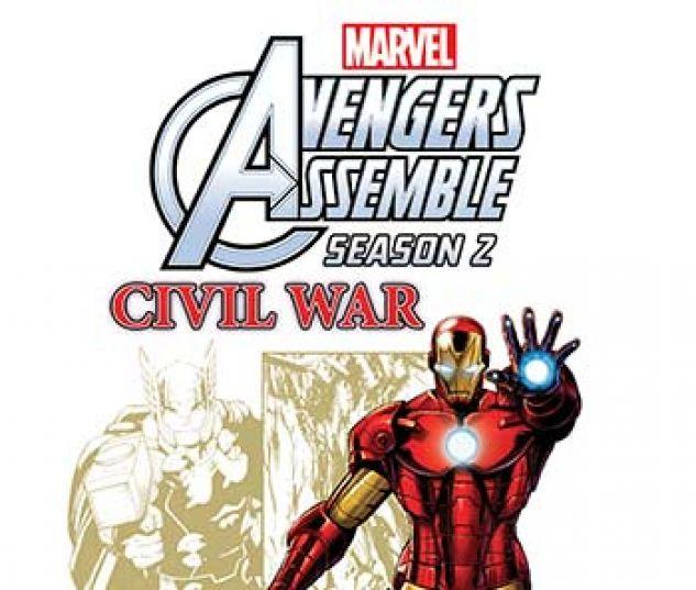 cover from Marvel Universe Avengers Assemble: Civil War (Digital Comic) (2017) #5