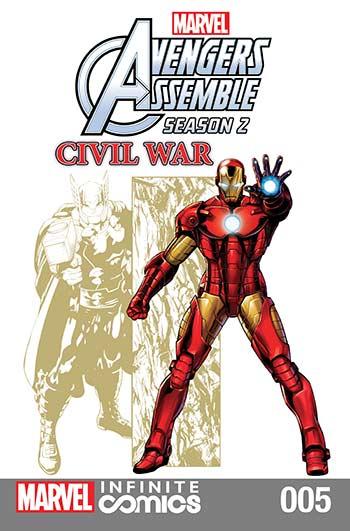 Marvel Universe Avengers Assemble: Civil War (2017) #5