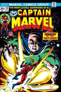 Captain Marvel (1968) #36