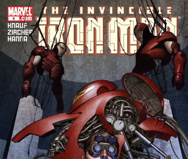 Iron Man (2004) #8
