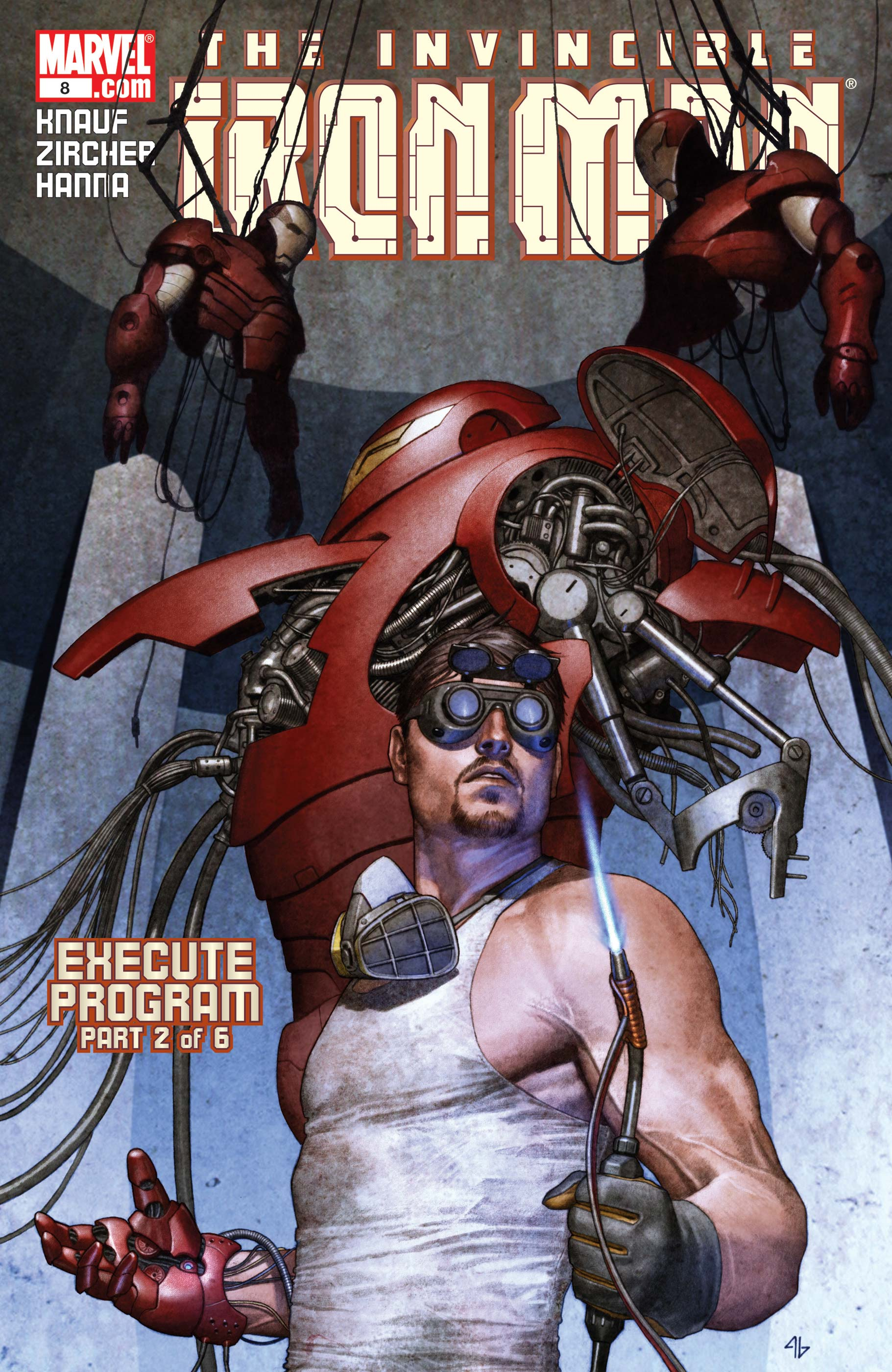 The Invincible Iron Man (2004) #8