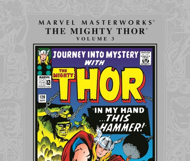 MARVEL MASTERWORKS: THE MIGHTY THOR VOL. 3 0 cover