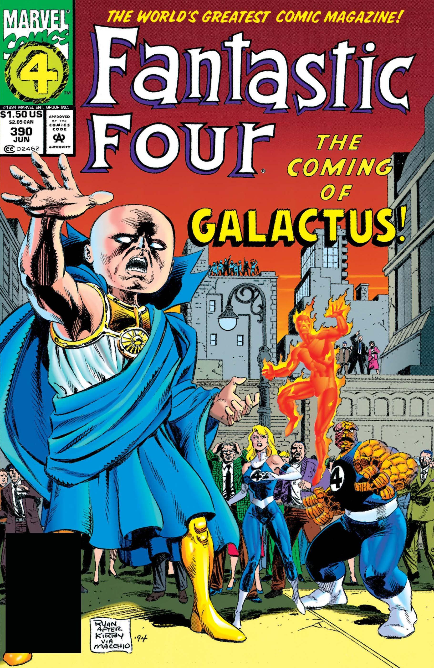 Fantastic Four (1961) #390