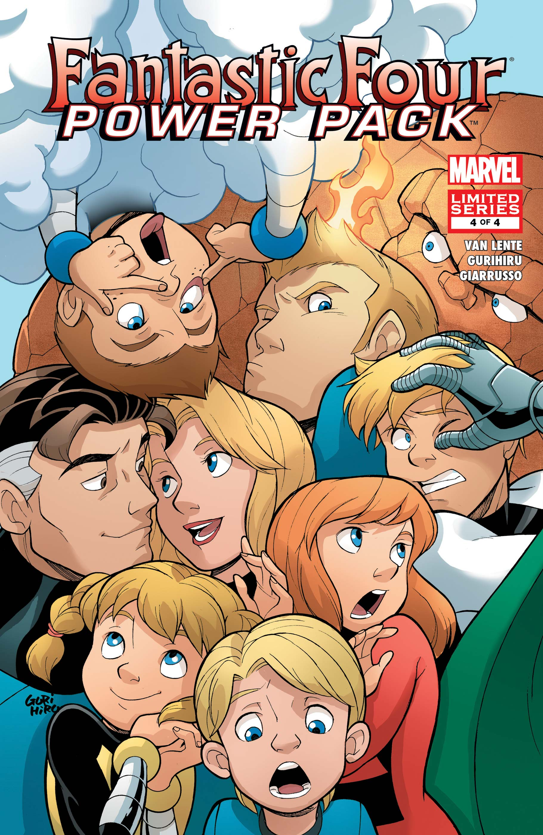 Fantastic Four and Power Pack (2007) #4