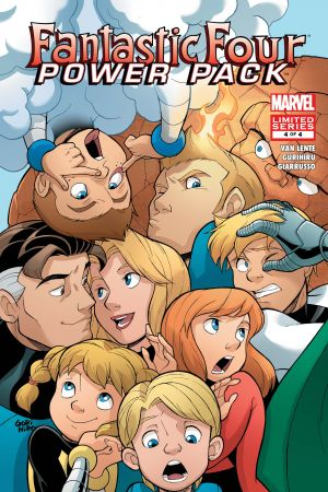 Fantastic Four and Power Pack #4