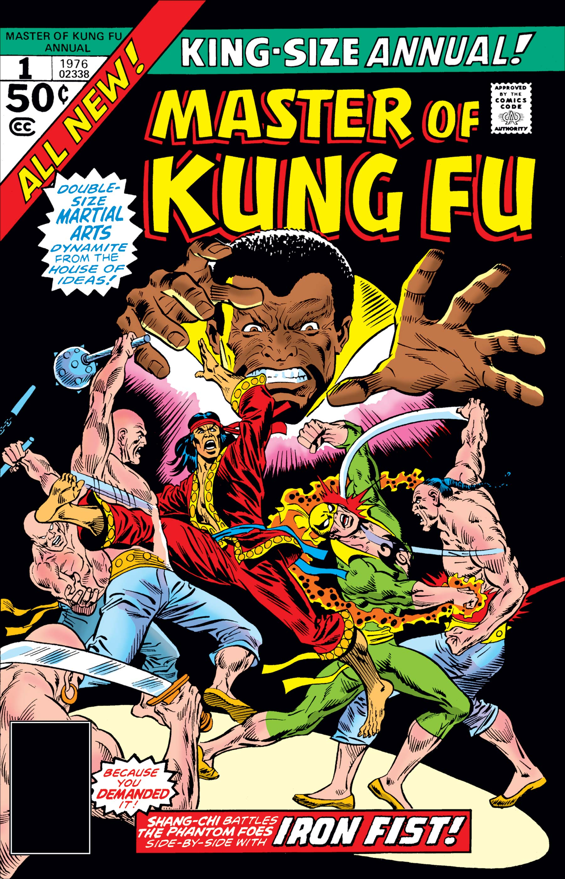 Master of Kung Fu Annual (1976) #1