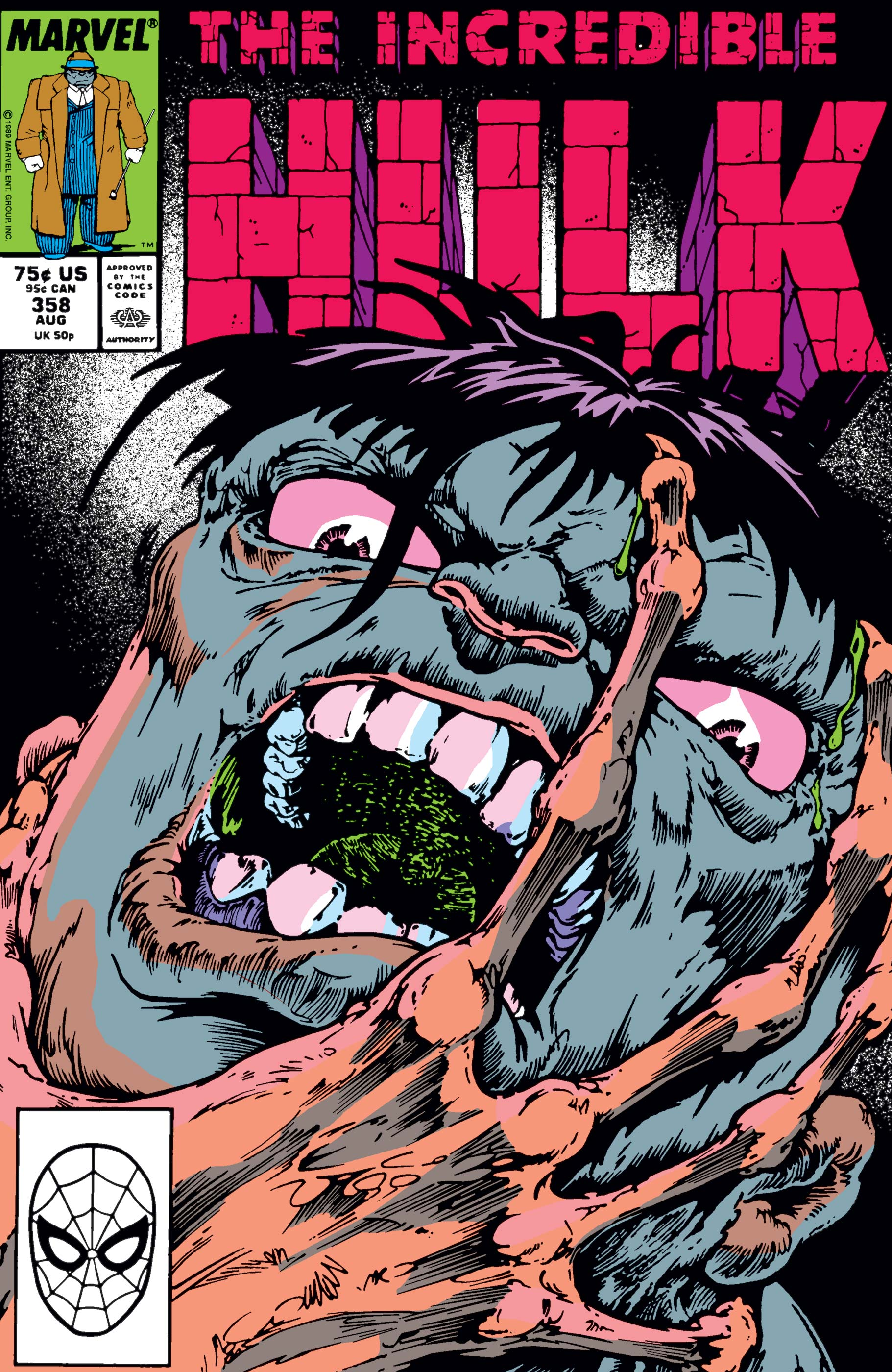 Incredible Hulk (1962) #358