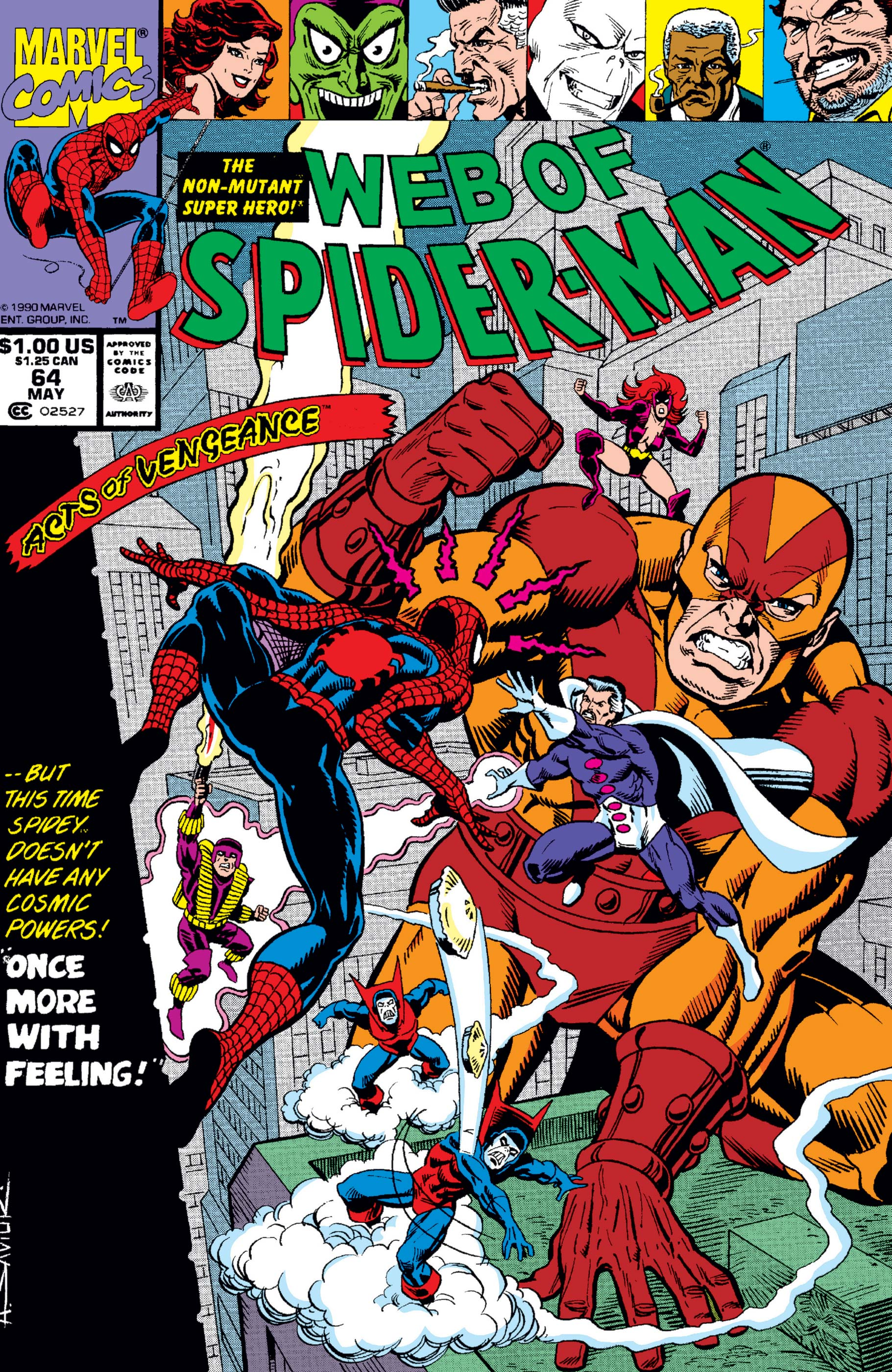 Web of Spider-Man (1985) #64