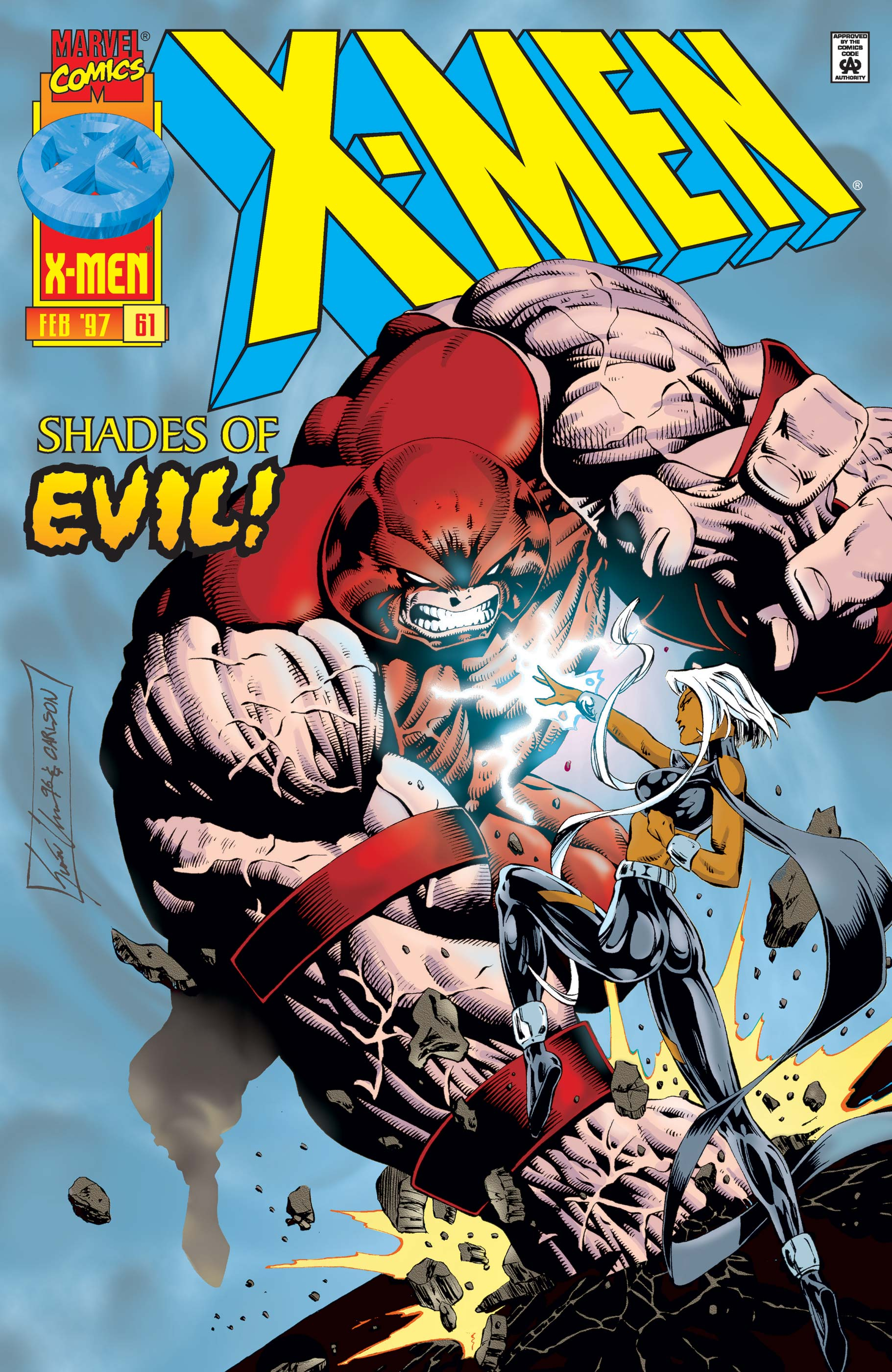 X-Men (1991) #61