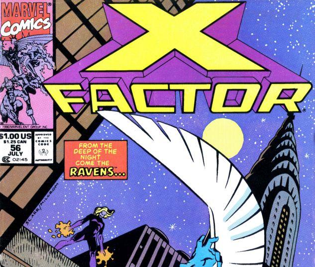 X-Factor (1986) #56