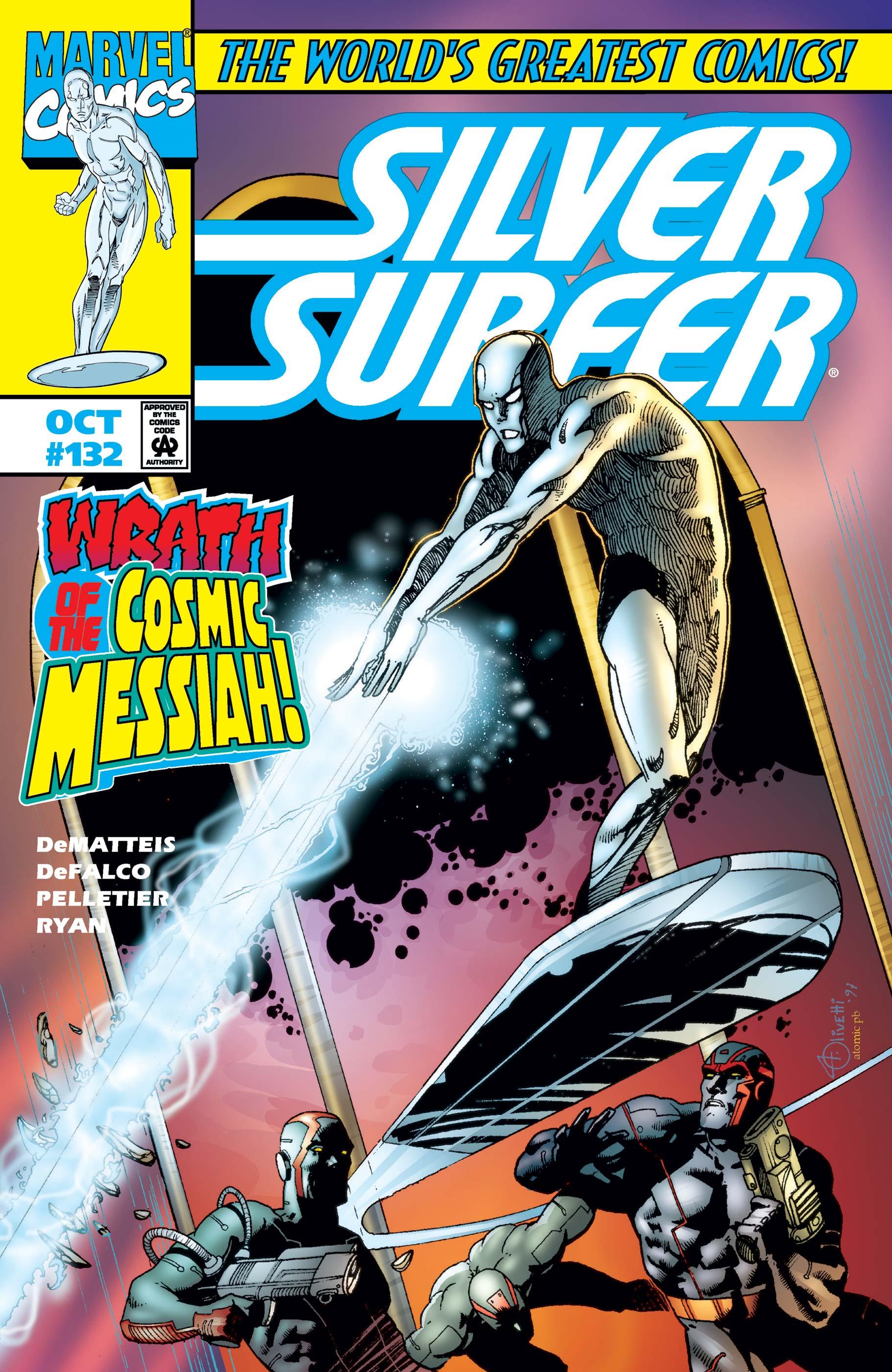 Silver Surfer (1987) #132
