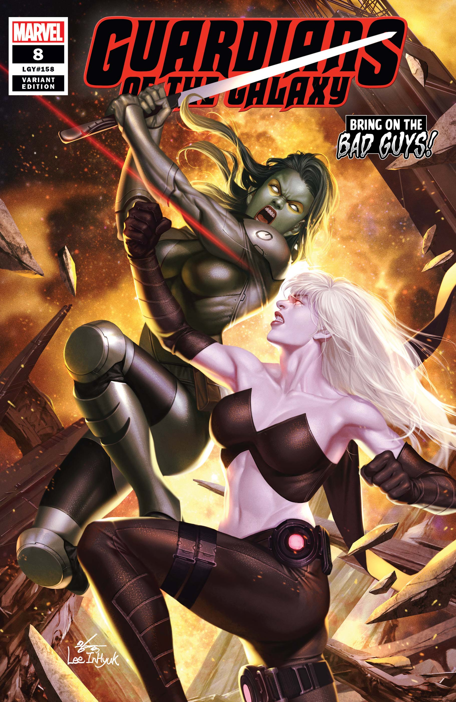 Guardians of the Galaxy (2019) #8 (Variant)