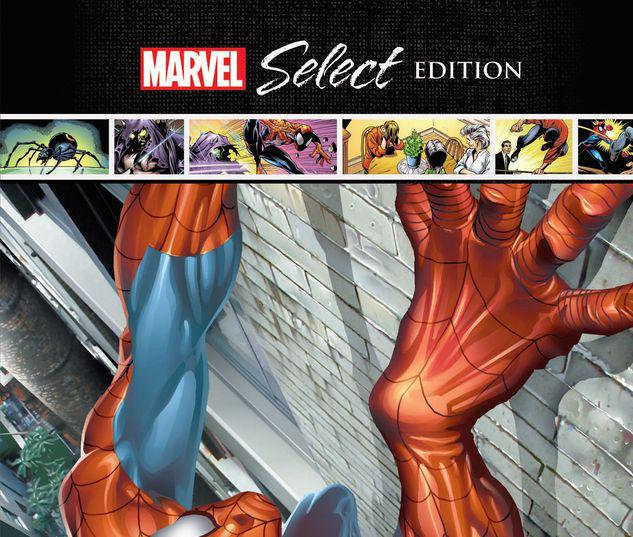 ULTIMATE SPIDER-MAN: POWER & RESPONSIBILITY MARVEL SELECT HC #1