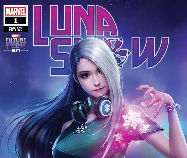 FUTURE FIGHT FIRSTS: LUNA SNOW 1 YONGJOON CHO NETMARBLE VARIANT #1